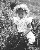 Child in a field